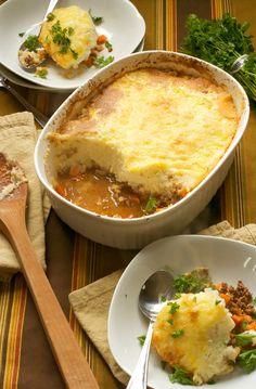 7. Shepherd's Pie With Cauliflower Topping #paleo #dinner #recipes greatist.com/...