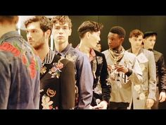 Dolce&Gabbana Men's Fall/Winter 2016-2017 Fashion Show - The Backstage - PerfumedGarden