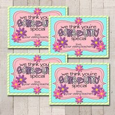April Visiting Teaching Goodie Tags 4 3.5x5 by bowpeepcreations, $1.95 easter card lds