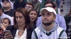 Mom and Son on Kiss-Cam at Milwaukee Bucks game! http://ift.tt/2qspsQn