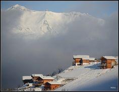Chalets in the Alps - Vernamiege, Valais, Switzerland