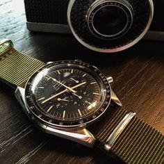 My vintage Omega Speedmaster Chronograph Moon watch