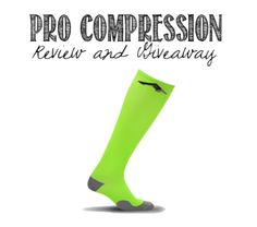 PRO Compression Review and Giveaway! Plus a 40% off discount for compression socks and sleeves.