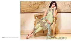Zarqash Silk Dresses For Eid 2015