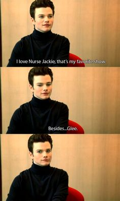Oh Chris | His last expression...adorable