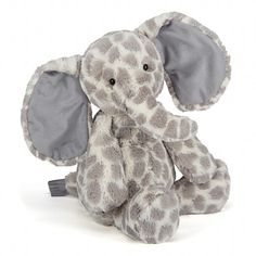 Buy Jellycat Dapple Elephant Soft Toy, Medium, Grey from our Soft Toys range at John Lewis & Partners. Newborn Gifts, Baby Gifts, Newborn Babies, Newborns, Baby Shower Gift List, Jellycat, Baby Couture, Custom Quilts, Baby Love