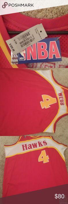 b97a9b4bc Authentic Throwback Jerseys Authentic Spud Webb Atlanta Hawks Bill Walton  Clippers jerseys ..Other