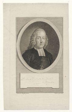 Portret van Dirk Jan Metzke (1733-1795), predikant te Gouda - Geheugen van Nederland Gouda, Van, Vans, Vans Outfit