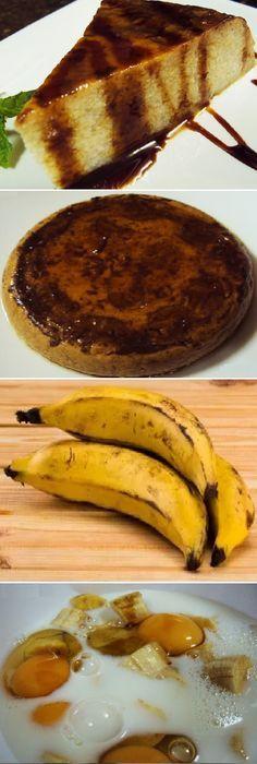 Disfruta de este FLAN DE PLÁTANO AL MICROONDAS que va a encantar a todos, y que se elabora muy facilmente. #flan #platano #pudin #Platanos #caramelo #vainilla #caramel #banana #microondas #postres #gelato #cheesecake #cakes #pan #panfrances #panettone #panes #pantone #pan #recetas #recipe #casero #torta #tartas #pastel #nestlecocina #bizcocho #bizcochuelo #tasty #cocina #chocolate Si te gusta dinos HOLA y dale a Me Gusta MIREN...