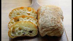 How to make no kneading Ciabatta Bread Bun, Bread Cake, Bread Rolls, Bread Machine Recipes, Bread Recipes, Baking Recipes, Savory Scones, Savoury Dishes, Pain Ciabatta