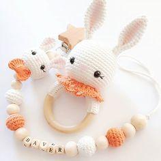Crochet Baby Toys, Crochet Amigurumi Free Patterns, Crochet Animal Patterns, Newborn Crochet, Rabbit Ideas, Crochet Rabbit, Crochet Crafts, Knitting, Dream Catcher Decor