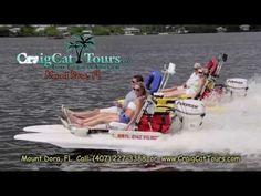CraigCat Tours - High Performance Boats - Mount Dora, Florida - Looks like fun!