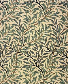 Illustration: William Morris. Willow Bough, 1887.