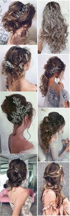Top 25 Ulyana Aster Wedding Hairstyles #weddings #weddinghairstyles #dpf #deerpearlflowers #hairstyles