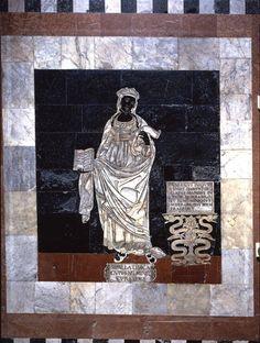 1Guidoccio Cozzarelli, Sibilla Libica. Siena, pavimento del Duomo