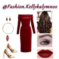 Fashion set New year's celebration 🎆🎇 created via Velvet Midi Dress, New Year Celebration, Polyvore Fashion, Short Dresses, Fashion Dresses, Fashion Looks, Clothes For Women, Stylish, Celebrities