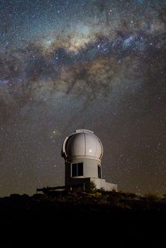 This photo shows the SkyMapper telescope at Siding Spring Observatory in Australia, which scientists used to observe more than 5 million stars in a survey that found evidence of the oldest stars in the Milky Way. <br />