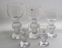 RitariTimo Sarpaneva Iittala 1979-81 Mason Jar Wine Glass, Glass Vase, Icon Design, Design Art, Alvar Aalto, Danish Modern, Glass Design, Scandinavian Design, Vintage Antiques