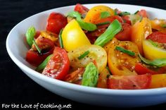 Tomato Salad With Fresh Herbs