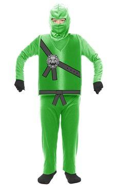 Green Ninja Child Costume Kids Costumes PartySupplies