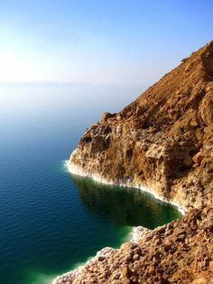 Dead Sea from above, Jordan