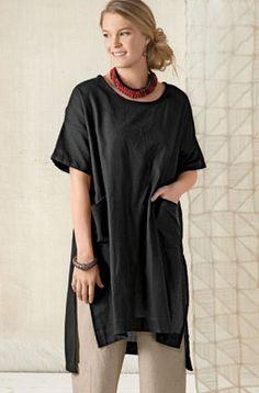 Bhadra Tunic - Black