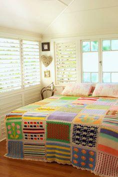 Deshilachado: Colchas de ganchillo / Crocheted blankets