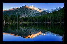 Bear Lake, Rocky Mountain...: Photo by Photographer Ya Zhang - photo.net