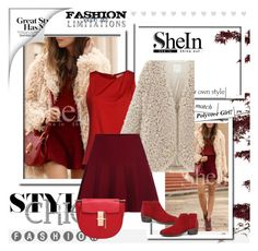 """""""SHEIN 3"""" by melisa-j ❤ liked on Polyvore featuring MICHAEL Michael Kors and shein"""