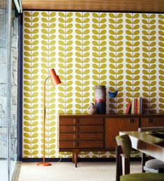 View our Harlequin Orla Kiely Classic Stem Wallpaper Collection online with WallpaperSales, Harlequin Wallpaper Store.