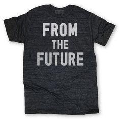 The Future Tee Unisex Black