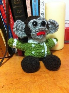 Jessica Nevin made an IKEA Monkey amigurumi … and she made a Psy too!