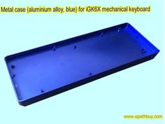 Custom custom mechanical keyboard case ( shell ) fit for and ( ) Silvery-gray, red, blue, green aluminum alloy cases optional Black ABS plastic case optional Diy Mechanical Keyboard, Online Shopping Stores, Aluminium Alloy, Plastic Case, Abs, Metal, Blue, Color, Crunches