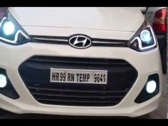 Hyundai Grand i10 Projectors with DRL