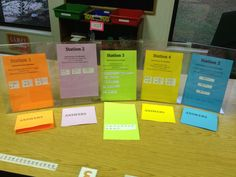 Quick and Easy Math Stations (aka - Pimp Your Worksheet)