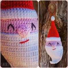Santa Amigurumi Pattern  #santa #christmas #amigurumi #pattern #diy