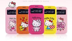Made in the style of the Japanese Kawaii, the newHello Kitty Color Kawaii View Cover for Galaxy S4 is available in 4 colorful cute Hello Kitty designs, each more beautiful and adorable than the next.