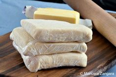 Do you also love puff pastry? - Do you also love puff pastry? Home Made Puff Pastry, Basic Dough Recipe, Making Croissants, Puff Pastry Sheets, Puff Pastry Recipes, Homemade Cakes, Desert Recipes, Sweet Bread, Hot Dog Buns