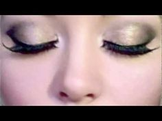 Glamorous Gold Eyes - Urban Decay Naked Palette | 2 Minute Prom Makeup Tutorial