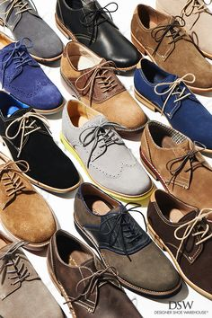 Go from zero to sophisticated in 60 seconds with a pair of classic men's oxford shoes. Find your perfect fit at DSW.