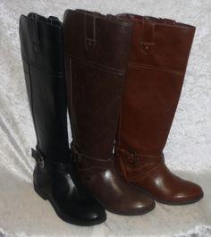 Liz Claiborne Womens Boots amberly knee high solid sizes 5, 5.5, 6, 6.5, 7 NEW  29.99 http://www.ebay.com/itm/Liz-Claiborne-Womens-Boots-amberly-knee-high-solid-sizes-5-5-5-6-6-5-7-NEW-/232181830527?ssPageName=STRK:MESE:IT