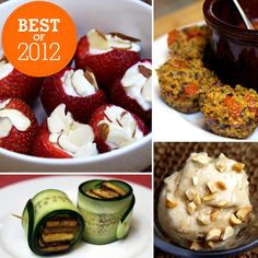 Best of 2012: Healthy Snacks to Enjoy Anytime: Finding a healthy snack that suits your taste buds' needs can be a bit of struggle. Luckily, this past year we've taken a ton of guesswork out of the equation and created a multitude of original, healthy recipes for you to enjoy whatever the season. Click through to check out our favorite healthy snacks from the year that was.