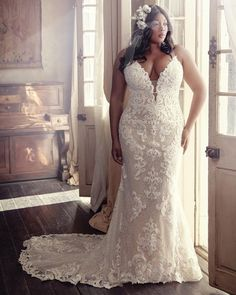 Wedding Dress TUSCANY MARIE by Maggie Sottero - Search our photo gallery for pictures of wedding dresses by Maggie Sottero. Find the perfect dress with recent Maggie Sottero photos. How To Dress For A Wedding, Plus Size Wedding Gowns, Lace Wedding Dress, Western Wedding Dresses, Maggie Sottero Wedding Dresses, Wedding Dress Shopping, Designer Wedding Dresses, Bridal Dresses, Bridesmaid Dresses