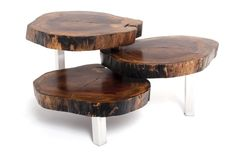 Woodworking Coffe Table Design Ideas - One of the most important furniture in the living room is the coffee table. The Woodworking Coffe Table Design Tree Stump Coffee Table, Natural Wood Coffee Table, Natural Wood Furniture, Unique Coffee Table, Contemporary Coffee Table, Coffee Tables, Tree Stump Furniture, Trunk Furniture, Furniture Ideas