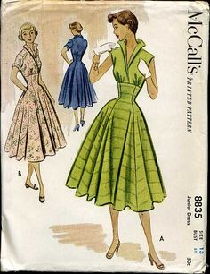 McCall's 8835 Day dress