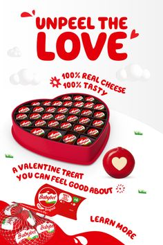If you're looking for Valentine's Day ideas, Babybel is an easy snack that's totally delicious. Fill your day with love - and 100% real cheese. Tap the Pin and learn more. Easy Snacks, Yummy Snacks, Yummy Treats, Cheese Day, Cheese Snacks, Valentines Art, Vintage Valentine Cards, Milk The Cow, Cheese Ingredients