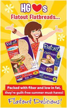 Hungry Girl...Flatout Flatbreads!