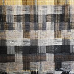 Jesse Jordan: extanttextiles | deflected double weave | wool