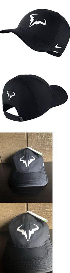 6a2e03075f9 Hats and Headwear 159160  Nike Unisex Rafa Premier Featherlight Dri-Fit  Black Tennis Hat