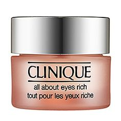 Clinique - All About Eyes™ Rich -- for your dark under eyes and puffiness #sephora